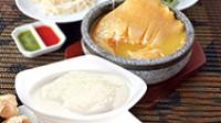 Braised Superior Shark's Fin in Hotstone Pot (súp vi cá mập thượng hạng tay cầm) - Double-boiled Brid's Nest (Yến Tiềm Hạnh Nhân) copy