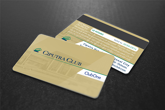 Ciputra Club - Membership Card (mockup)