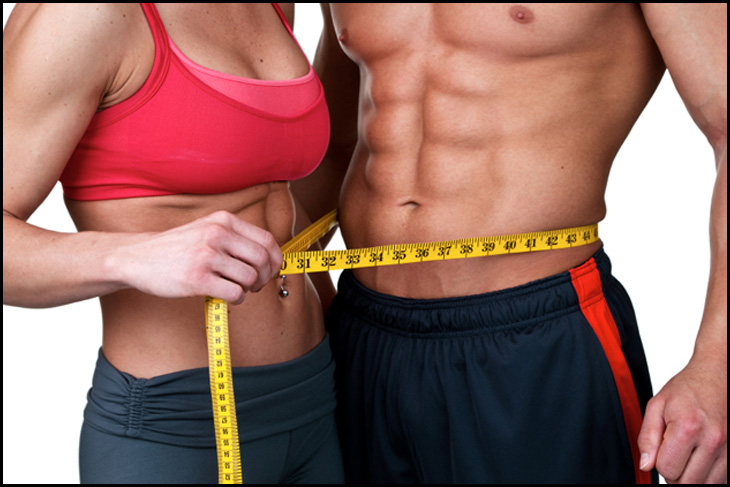 man-and-woman-with-no-fat-on-their-stomachs